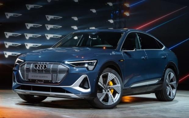 Електричне крос-купе Audi e-tron Sportback представлено офіційно