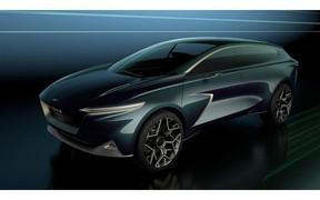 Електричний позашляховик Lagonda All-Terrain