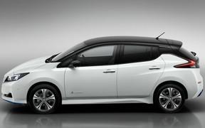 Электрокар Nissan Leaf E+ увеличил запас хода в полтора раза