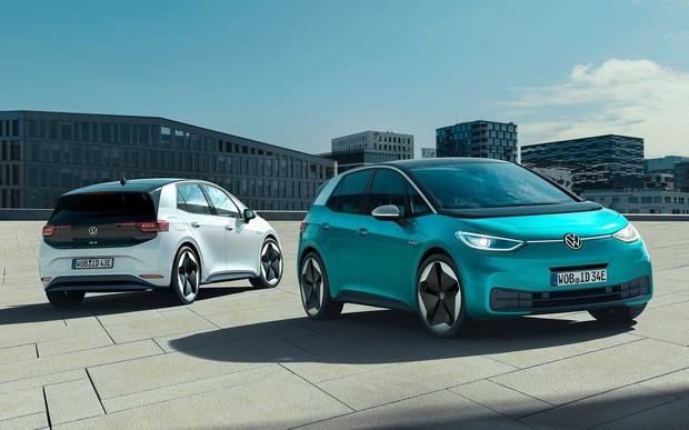 Электрокар за $33 тыс. Volkswagen представил свой первый массовый электромобиль