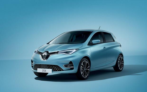 Электромобиль Renault ZOE. Не все по-новому