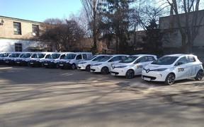 Электромобили Renault обслуживают ДТЭК Киевские электросети
