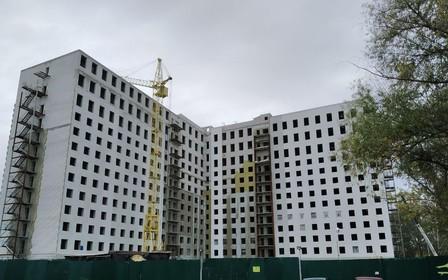 Есть новая информация о том, как строится восьмой ЖК «Воробьевы Горы»