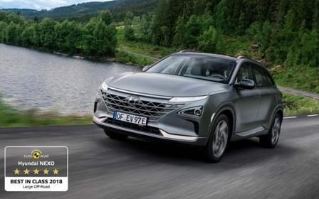 Euro NCAP визнав Hyundai NEXO найбезпечнішим кросовером у класі