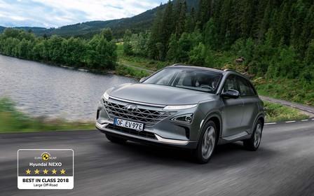 EuroNCAP визнав Hyundai NEXO найбезпечнішим кросовером у класі