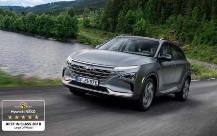 «EuroNCAP визнав Hyundai NEXO найбезпечнішим кросовером у класі»