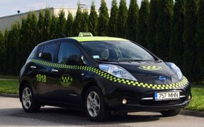 Европейские эко-таксисты предпочитают Nissan Leaf