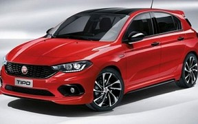 Fiat представила новую версию хэтчбека Tipo