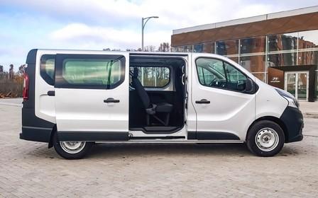 Fiat Talento - вмісткий автомобіль для сімейних подорожей!