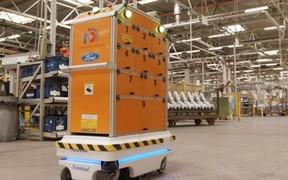 Ford испытывает нового робота - Survival
