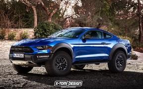 Ford Mustang сделают внедорожником. Ждем?