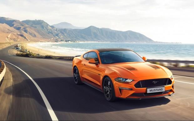 Ford презентував ювілейну версію моделі Mustang 55