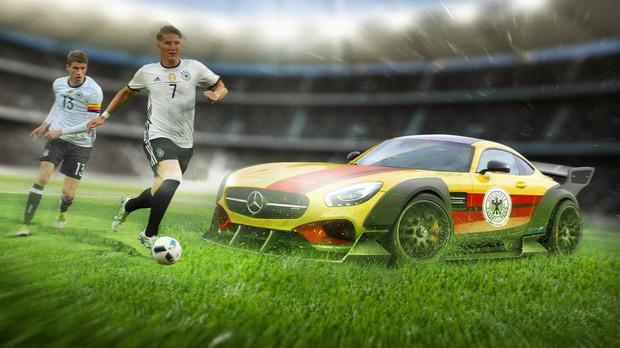 Фото: Если бы футбольные сборные были машинами?