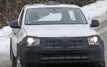 Фото: Обновленный Volkswagen Amarok вывели на тесты