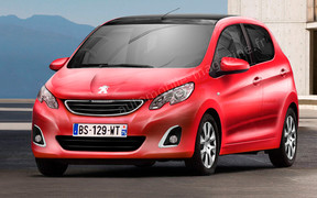 Французы готовят новый хэтчбек Peugeot 108
