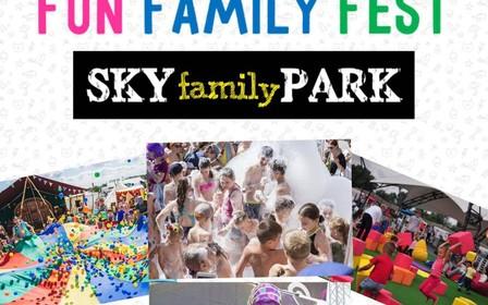 """Fun Family Fest - Главное событие лета 2019 в """"Sky family park"""" 8-9 июня"""