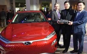 Genesis G70, Hyundai Kona і Kona Electric стали «Автомобілями року-2019» у Північній Америці