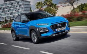 Гибрид к осени. Кроссовер Hyundai Kona получит новую модификацию
