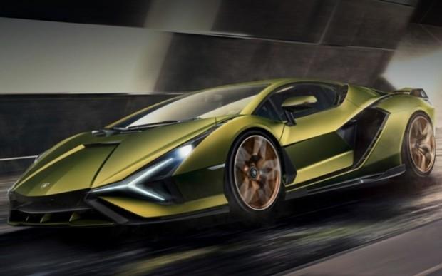 Гібридний суперкар Lamborghini Sian