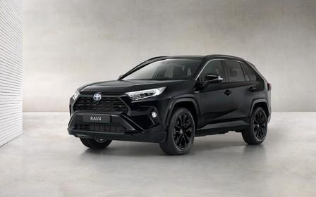 Гибридный Toyota RAV4 получит спецверсию Black Edition