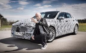 Глава Daimler показал новый Mercedes-Benz A-Class