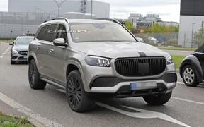 GLS на все деньги! Внедорожник Mercedes-Maybach GLS засекли на тестах