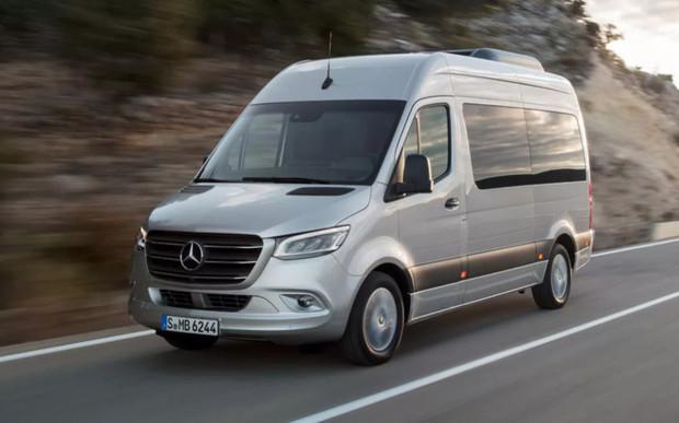 Глючный софт. Mercedes отзывает вэны Sprinter 2019 модельного года