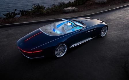 Голубая мечта: в Калифорнии показали открытый Mercedes-Maybach 6 Cabriolet