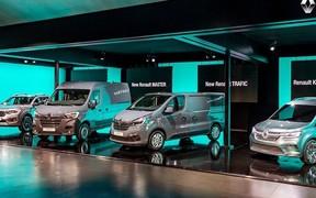 Groupe Renault: легкі комерційні автомобілі набувають нового виміру.