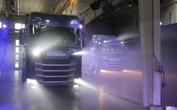Грузовики Scania 5-го поколения официально представили в Украине