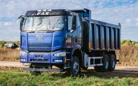 Вантажні автомобілі FAW можна придбати в кредит за ставкою від 4,7% річних у гривні