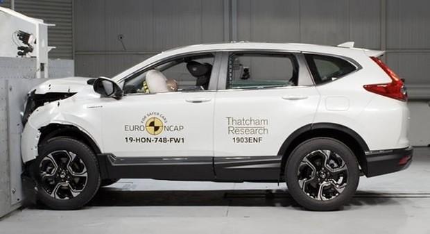 Honda CR-V получил максимальную оценку пять звезд в последних тестах безопасности Euro NCAP.