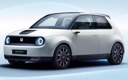Honda e станет серийным электромобилем.