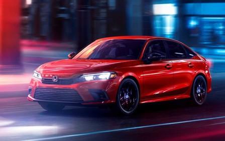 Honda розсекретила седан Civic 11-го покоління. Гарний?
