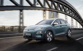 Hyundai Kona Electric: оголошені Українські ціни і комплектації.