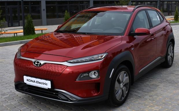 Hyundai Kona Electric уже в Вінниці!