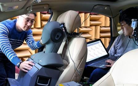 Hyundai Motor Group розробляє першу у світі систему активного пригнічення зовнішніх шумів