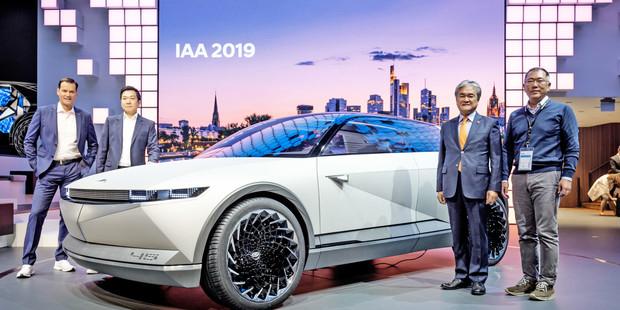 Hyundai Motor на автосалоні у Франкфурті: Концепти електромобілів і нове покоління I10