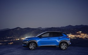Hyundai Motor представила кроссовер Kona Hybrid