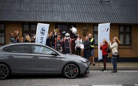 «Hyundai Motor відзначила дебют моделі i30 Fastback N світовим рекордом»