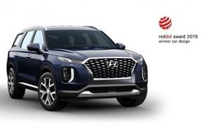 Hyundai Palisade став переможцем премії Red Dot Award-2019