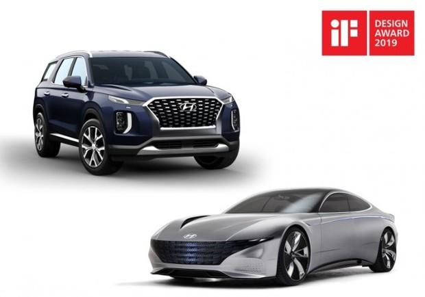 «Hyundai Palisade та концепт Le Fil Rouge здобули премії iF Design Awards-2019.»
