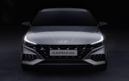 Hyundai показал «заряженную» версию нового поколения Elantra