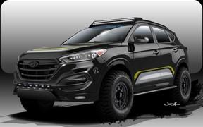 Hyundai привезет на тюнинг-шоу SEMA внедорожную версию паркетника Tucson