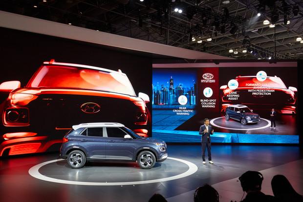 «Hyundai Venue официально дебютировал в Нью-Йорке»