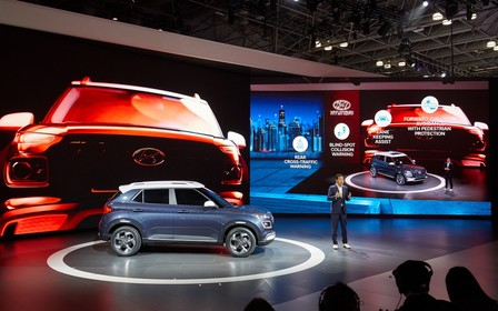 Hyundai Venue офіційно дебютував у Нью-Йорку