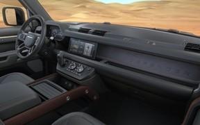 Интерьер нового Land Rover Defender показали в деталях