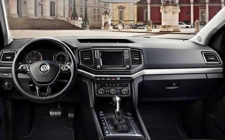 Интерьер нового Volkswagen Amarok рассекретили в Сети