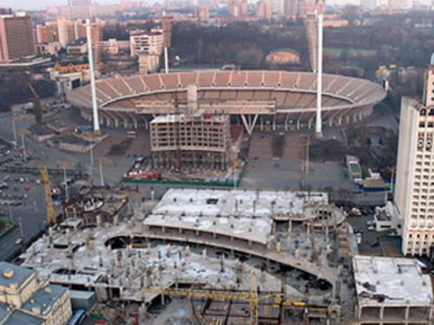Инвесторов заставили отдать землю возле НСК «Олимпийский»