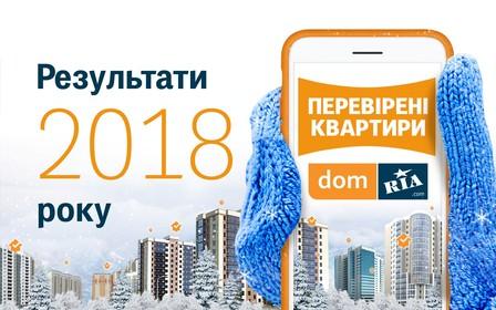 Итоги 2018 на DOM.RIA
